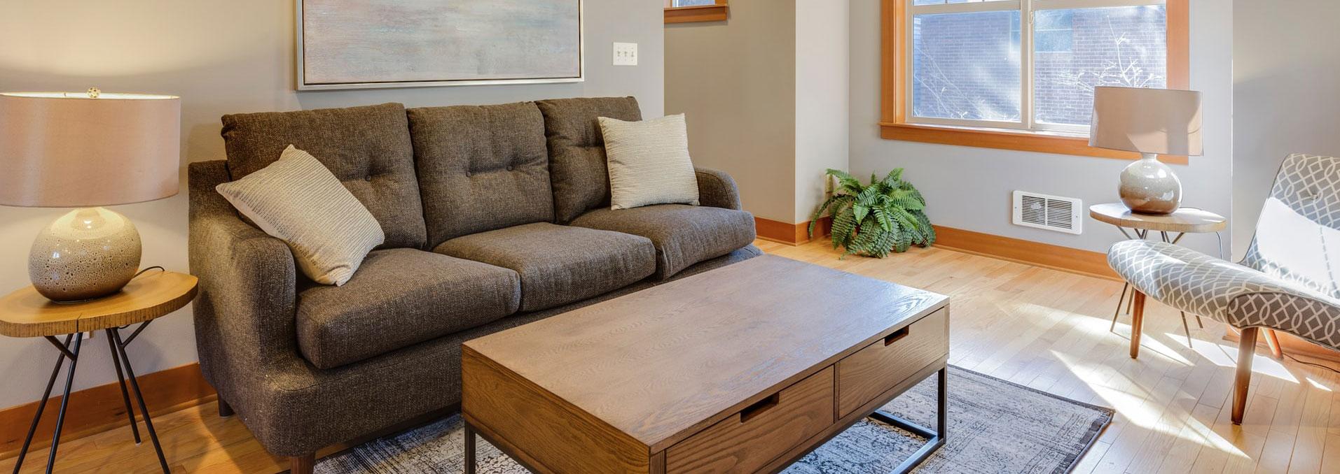 3 Tische für das Wohnzimmer